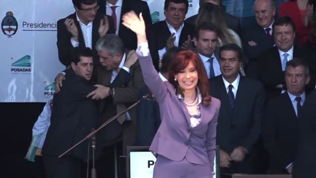 argentinas outgoing president cristina kirchner said wednesday she will not block the governance of the country after conservative mauricio macri was... - mauricio macri stock videos and b-roll footage