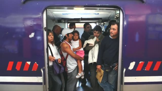 argentine families demand answers, after 50 people were killed and more than 700 injured when a packed commuter train plowed into a buenos aires rail... - argentina stock videos & royalty-free footage