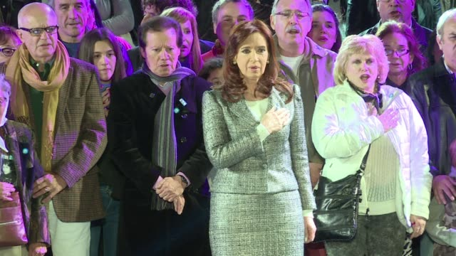 Argentine President Cristina Kirchner gives her last Independence Day address listing her governments successes ahead of elections to choose her...