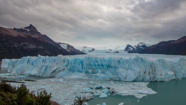 argentinian glacier timelapse - argentina stock videos & royalty-free footage