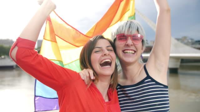 argentinian queer girlfriends in puerto madero buenos aires - puente de la mujer stock videos & royalty-free footage