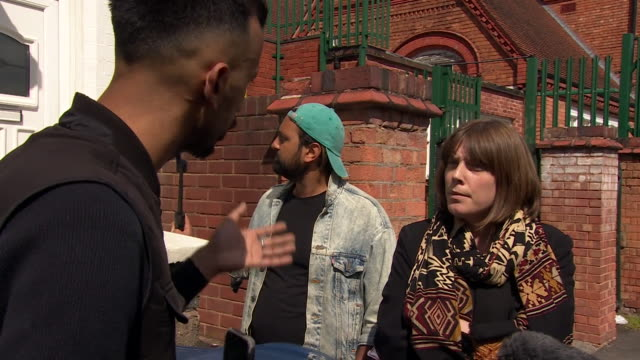argument between campaigner shakeel afsar and mp jess phillips about anderton park primary school in birmingham teaching children about homosexual... - teaching stock videos & royalty-free footage