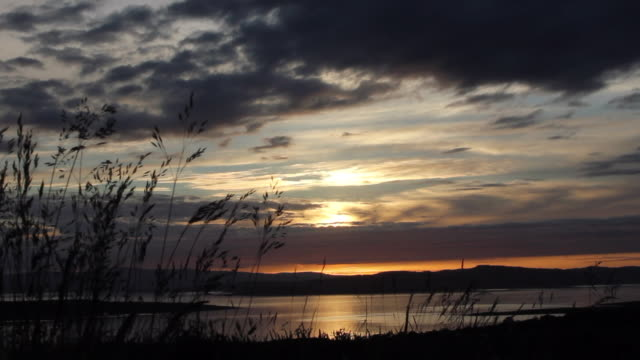 argyll & bute sunset - solstice stock videos & royalty-free footage
