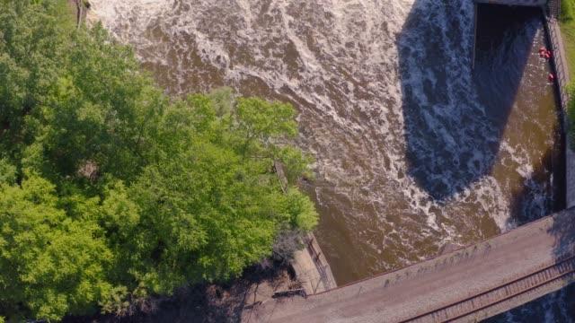 Arial View Barton Dam
