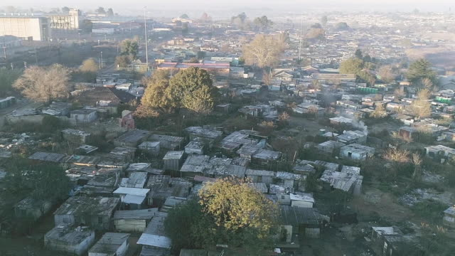 arial view of dobsonville/ soweto/ south africa - soweto stock videos & royalty-free footage