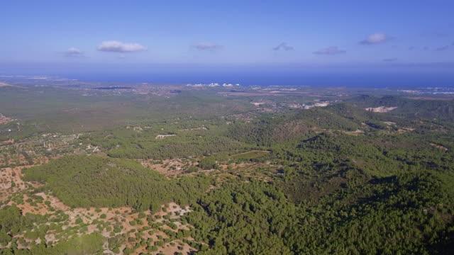 Arial Ansicht des Tieflandes von Osten Mallorca / Balearen, Spanien