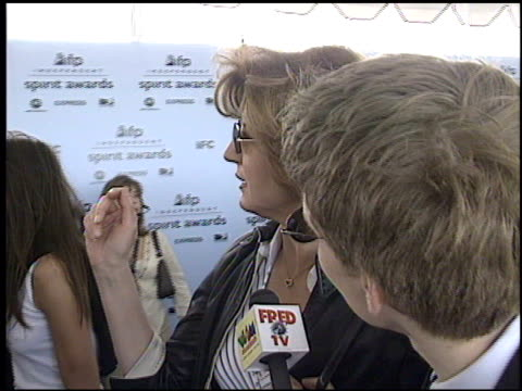 ariana huffington at the 2003 ifp independent spirit awards on march 22 2003 - ifp independent spirit awards stock videos and b-roll footage