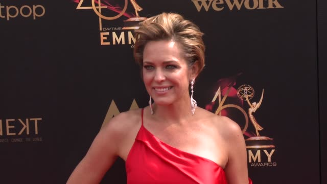 arianne zucker at the 2019 daytime emmy awards at pasadena civic center on may 05 2019 in pasadena california - annual daytime emmy awards stock videos & royalty-free footage