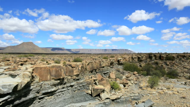 arid landscape time lapse - the karoo stock videos & royalty-free footage