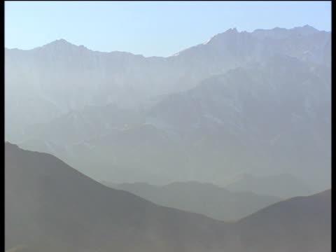 Arid mountain landscape Afghanistan