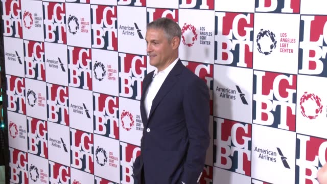 stockvideo's en b-roll-footage met ariel emanuel at los angeles lgbt center's 48th anniversary gala vanguard awards in los angeles ca - anniversary gala vanguard awards