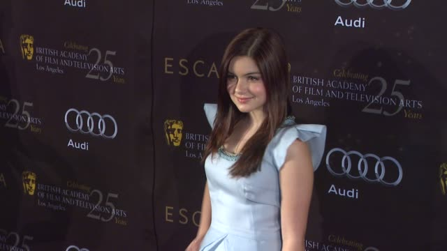 ariel winter at bafta los angeles 18th annual awards season tea party on 1/14/2012 in beverly hills ca - ariel winter stock videos and b-roll footage