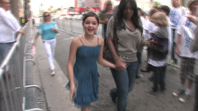 ariel winter at el capitan theatre in hollywood at the celebrity sightings in los angeles at los angeles ca - ariel winter stock videos and b-roll footage
