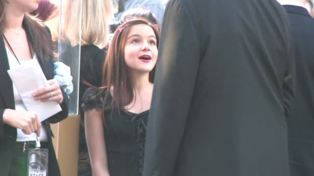 ariel winter at the clash of the titans premiere at the celebrity sightings in los angeles at los angeles ca - clash of the titans stock videos & royalty-free footage