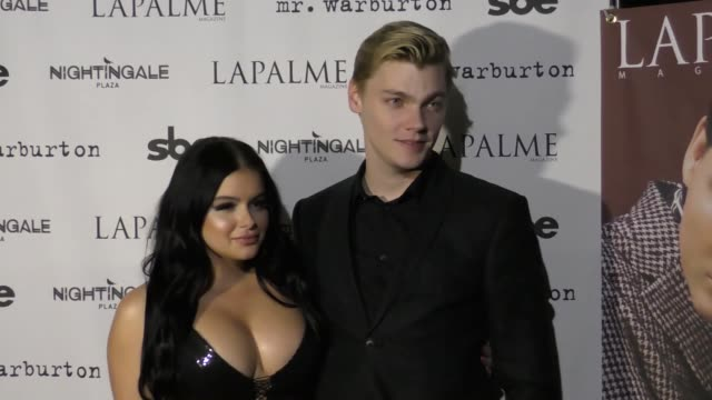 Ariel Winter Levi Meaden at the LaPalme Magazine Fall Cover Party on November 08 2017 in Los Angeles California