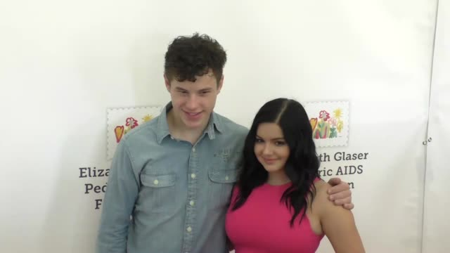 ariel winter nolan gould at the elizabeth glaser pediatric aids foundation 26th annual a time for heroes family festival at smashbox studios in... - culver city stock videos & royalty-free footage