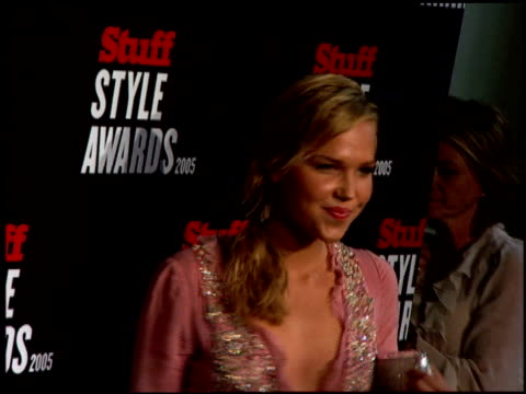 Arielle Kebbel at the 2005 Stuff Style Awards Arrivals at the Roosevelt Hotel in Hollywood California on September 7 2005
