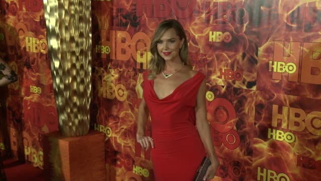 Arielle Kebbel at the 2015 HBO Emmy After Party at The Plaza at the Pacific Design Center on September 20 2015 in Los Angeles California