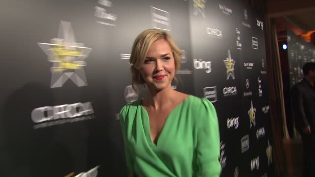 Arielle Kebbel at the 4th Annual Hollywood Domino Gala at West Hollywood CA