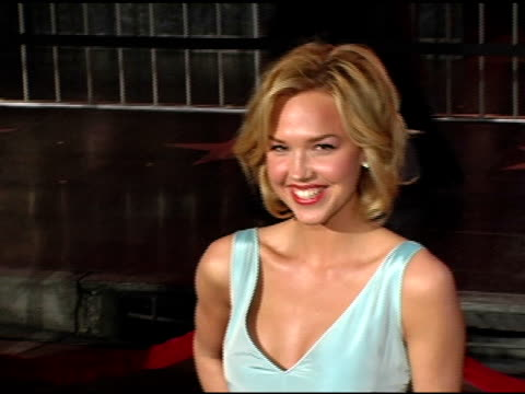 Arielle Kebbel at the 'Be Cool' Los Angeles Premiere at Grauman's Chinese Theatre in Hollywood California on February 14 2005