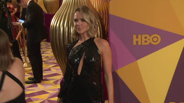 Arielle Kebbel at the HBO Post Golden Globes Party at Circa 55 Restaurant on January 07 2018 in Los Angeles California