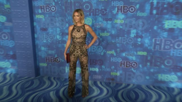 Arielle Kebbel at the HBO's Post Emmy Awards Reception Arrivals at The Plaza at the Pacific Design Center on September 18 2016 in Los Angeles...