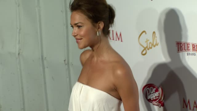 Arielle Kebbel at the Maxim Hot 100 2009 at Santa Monica CA