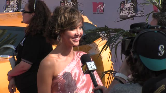Arielle Kebbel at the MTV Movie Awards @ the Universal Amphitheatre at Los Angeles California