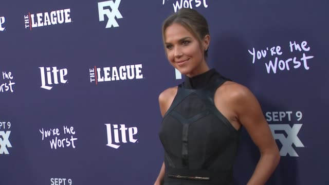 Arielle Kebbel at the Premiere of FXX's The League Final Season and You're The Worst 2nd Season at Regency Bruin Theater on September 08 2015 in...