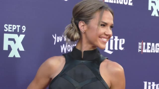 Arielle Kebbel at the Premiere Of FXX's The League Final Season You're The Worst 2nd Season at Bruin Theatre in Westwood on September 08 2015 in Los...