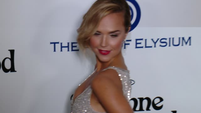 Arielle Kebbel at the The Art of Elysium's Ninth Annual Heaven Gala at 3LABS on January 9 2016 in Culver City California
