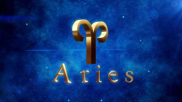 aries (zodiac air signs) | loopable - cancer astrology sign stock videos and b-roll footage