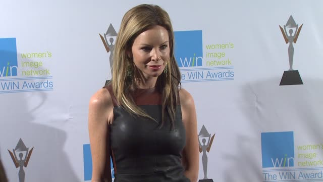 stockvideo's en b-roll-footage met aries milan at the 14th annual women's image network awards on 12/12/12 in los angeles ca - women's image network awards