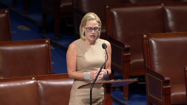 arizona congresswoman kyrsten sinema says during an hourlong special order to serve the bravest men and women as they had served america challenging... - department of defense stock videos and b-roll footage