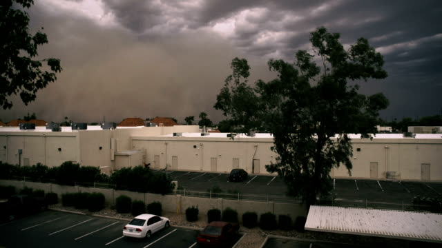 arizona dust storm timelapse (haboob) - dust storm stock videos & royalty-free footage