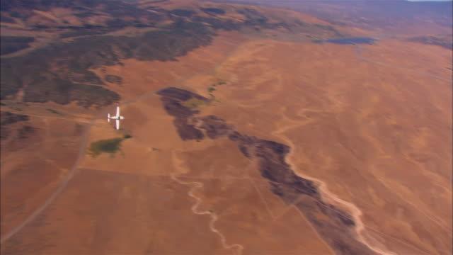 AIR TO AIR, HA, USA, Arizona, Grand Canyon, Lancair Legacy flying over desert