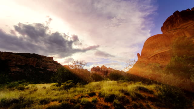 Arizona landscape time lapse