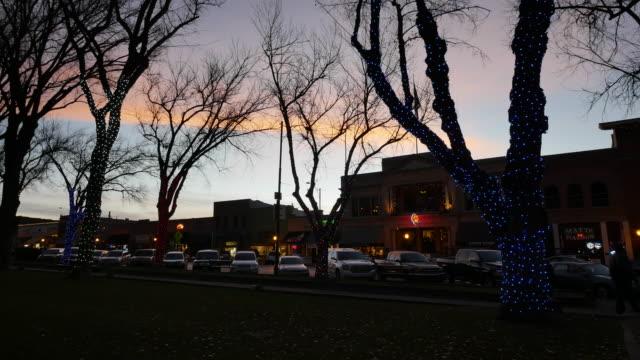 arizona prescott after sunset.mov - prescott arizona stock videos & royalty-free footage