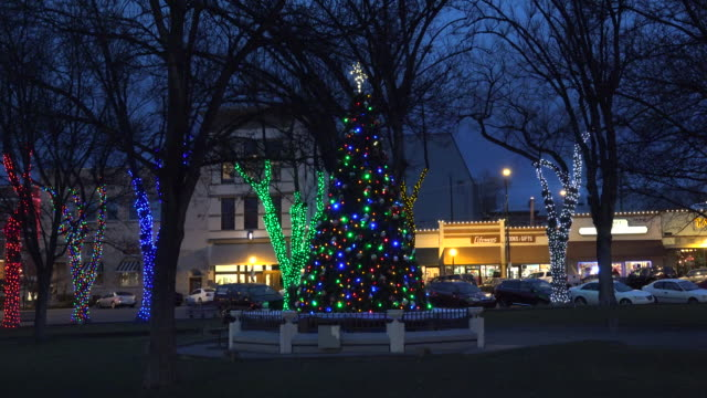 arizona prescott christmas tree.mov - prescott arizona stock videos & royalty-free footage