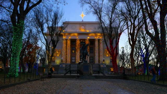 arizona prescott courthouse front.mov - prescott arizona stock videos & royalty-free footage