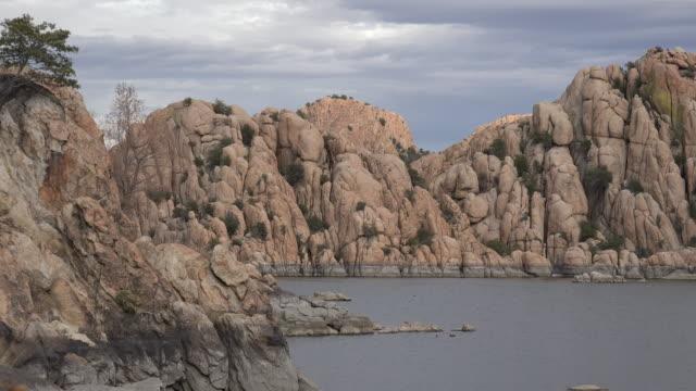 arizona prescott watson lake city park.mov - prescott arizona stock videos & royalty-free footage