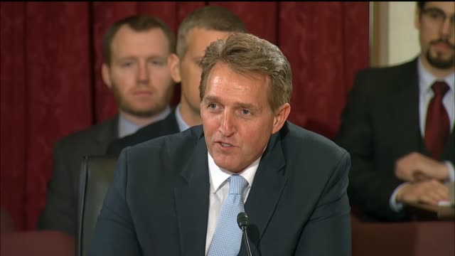 Arizona Senator Jeff Flake asks Senator Jeff Sessions at his hearing to be the next Attorney General about immigration enforcement border security...