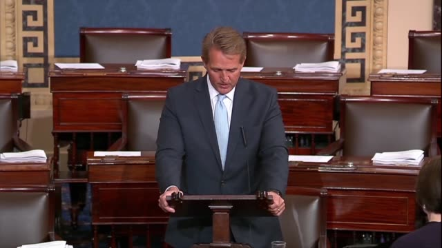 Arizona Senator Jeff Flake says as all know no one is above the law the doctrine of separation of powers and judicial system sets America apart from...