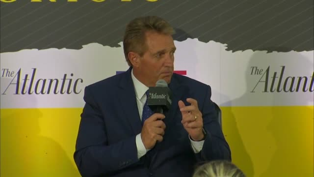 Arizona Senator Jeff Flake says at a Constitution Center event as an FBI supplemental investigation was underway into the background of Supreme Court...