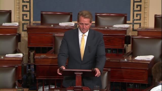 arizona senator jeff flake says global peace is not a zerosum game and alliances are not be subject to whim impulse opaque imaginations or material... - {{ contactusnotification.cta }} stock videos & royalty-free footage