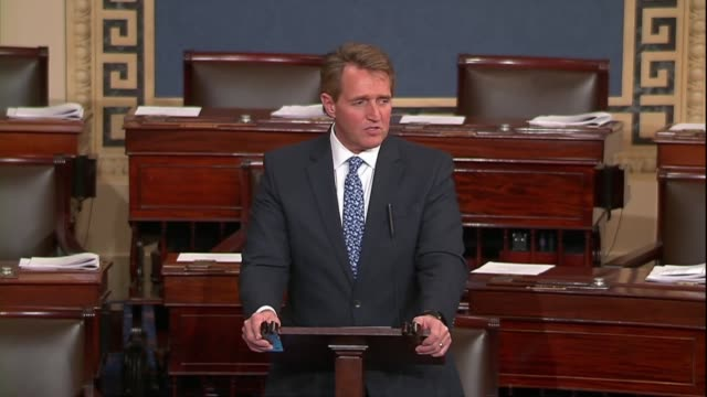 Arizona Senator Jeff Flake says that having just met with several student survivors of the Marjory Stoneman High School mass shooting he was...