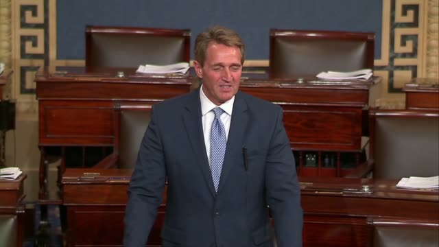Arizona Senator Jeff Flake says that one day into a government shutdown the Senate was in a hole Flake says more were concerned with getting out of...