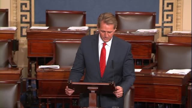 Arizona Senator Jeff Flake says that the United States is not as some suggest that the early stages of a fullscale trade war that could be easily one...