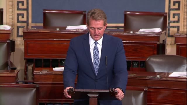 Arizona Senator Jeff Flake says there are no more consequential words spoken then those of the US president which reverberate around the world like...