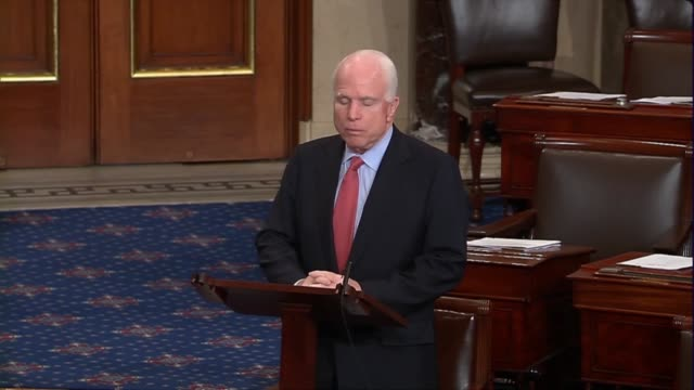 arizona senator john mccain says intervention of russia inside syria would prolong and complicate a horrific war and the main beneficiary would be... - beneficiary stock videos & royalty-free footage
